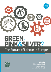 Green, Pink & Silver? The Future of Labour in Europe - okladka